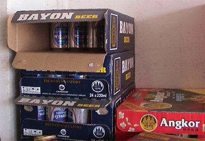 Photo of Bayon beers in Siem Reap