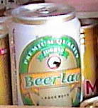 Photo of Lao beer can in Siem Reap