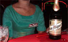 photo of san miguel beer promotion woman